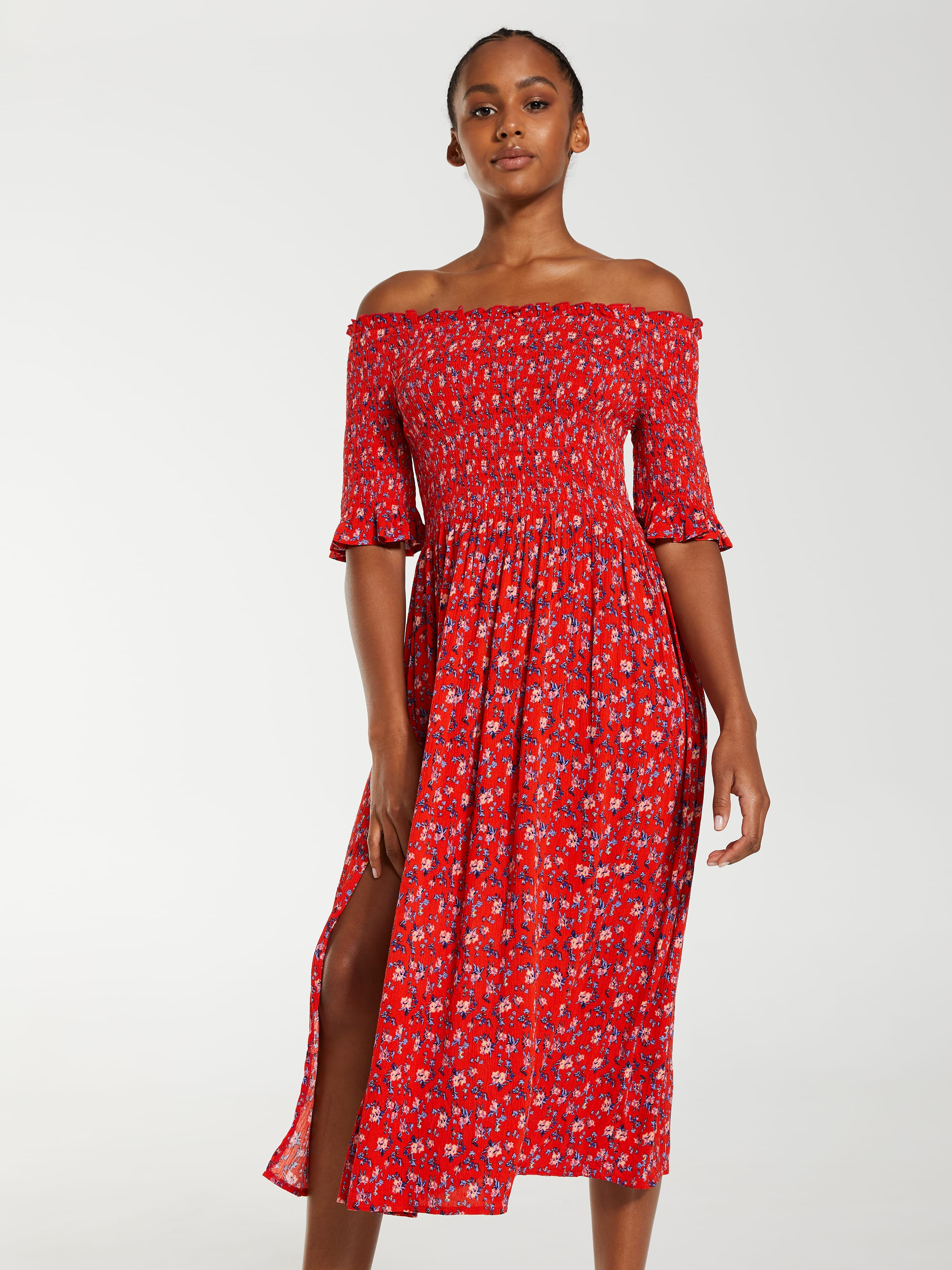 Dotti Dakota Shirred Dress