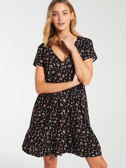 Linen Blend Sorrento Skater Dress