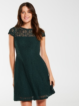 Chanel Lace Skater Dress