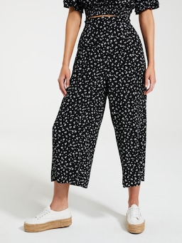 Everly Crepe Culotte