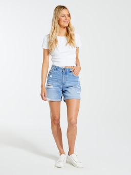 Stevie Denim Girlfriend Short