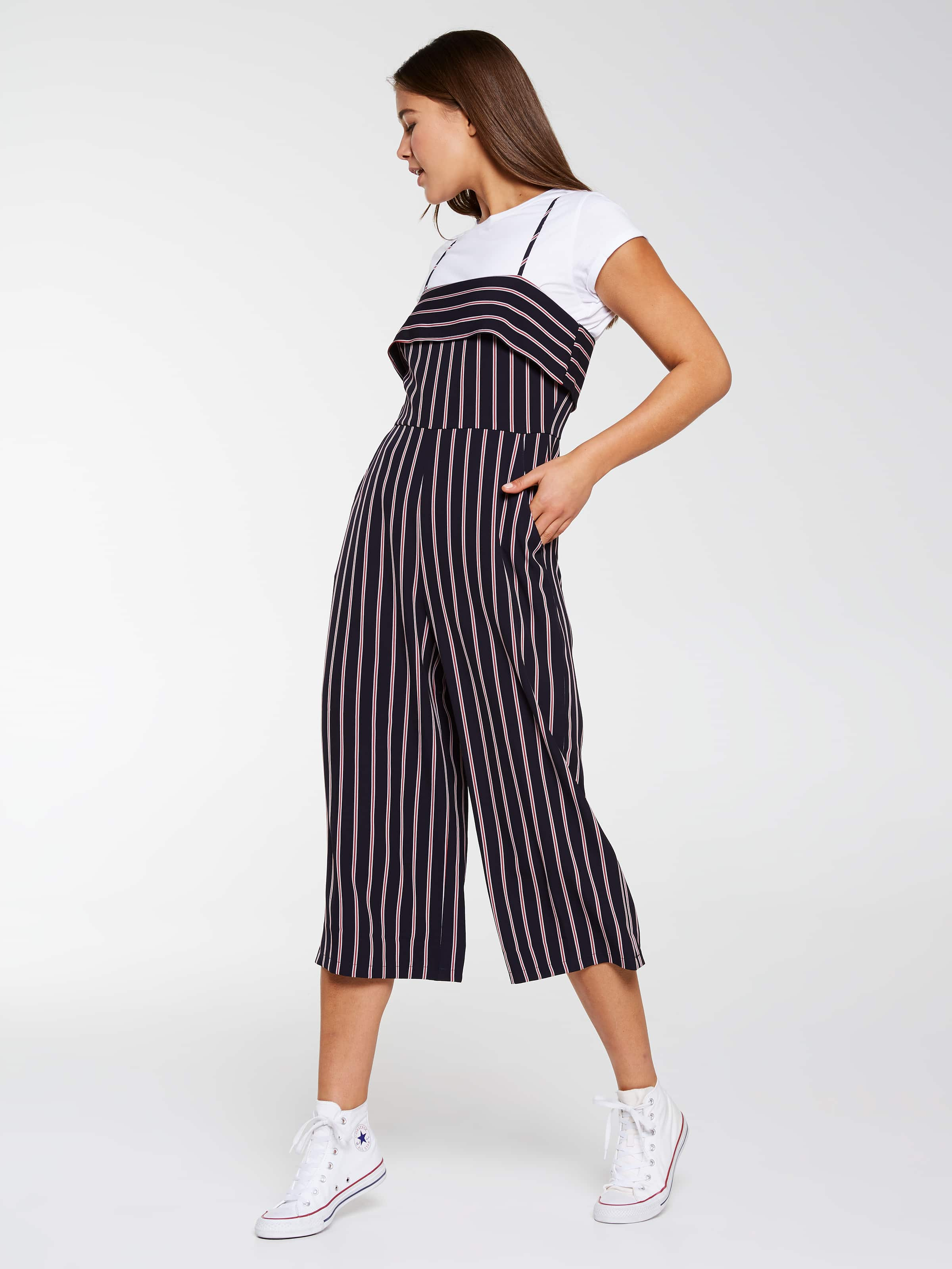 f4604734bf ... Image for Seeing Stripes Jumpsuit from Dotti Online ...