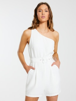 One Shoulder Playsuit