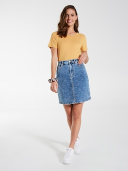 Jamie Denim Midi