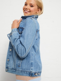 Girlfriend Denim Jacket
