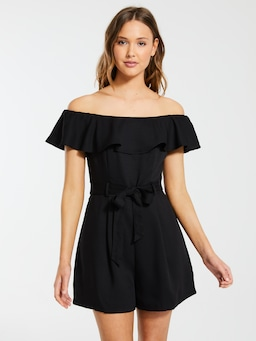 Salem Off The Shoulder Playsuit