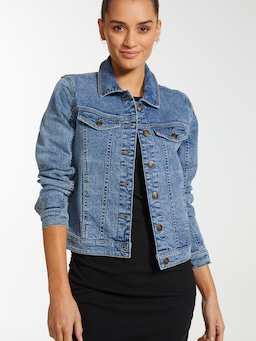 Classic Fitted Denim Jacket