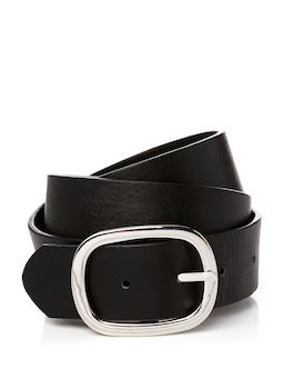Oval Buckle Jean Belt