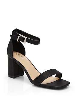 Square Toe Low Block Heel