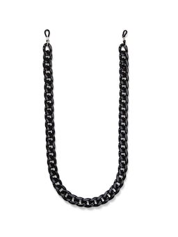 Black Link Glasses Chain