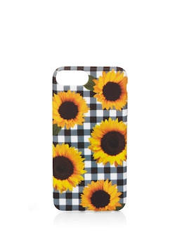 I6 I7 I8 + Gingham Sunflower Phone Cover