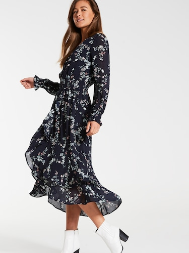 923c0c2720f30 ... Brooklyn Hi-Low Midi Dress
