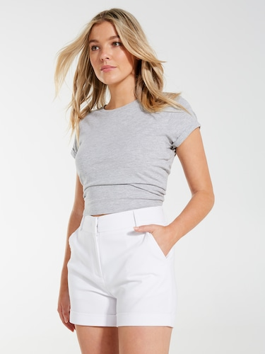Core Tailored Sateen Short