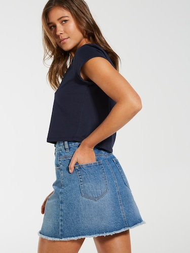 Jessie A-Line Mini Skirt